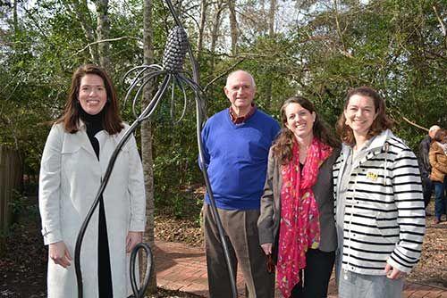Flo Hannah Sculpture Unveiling