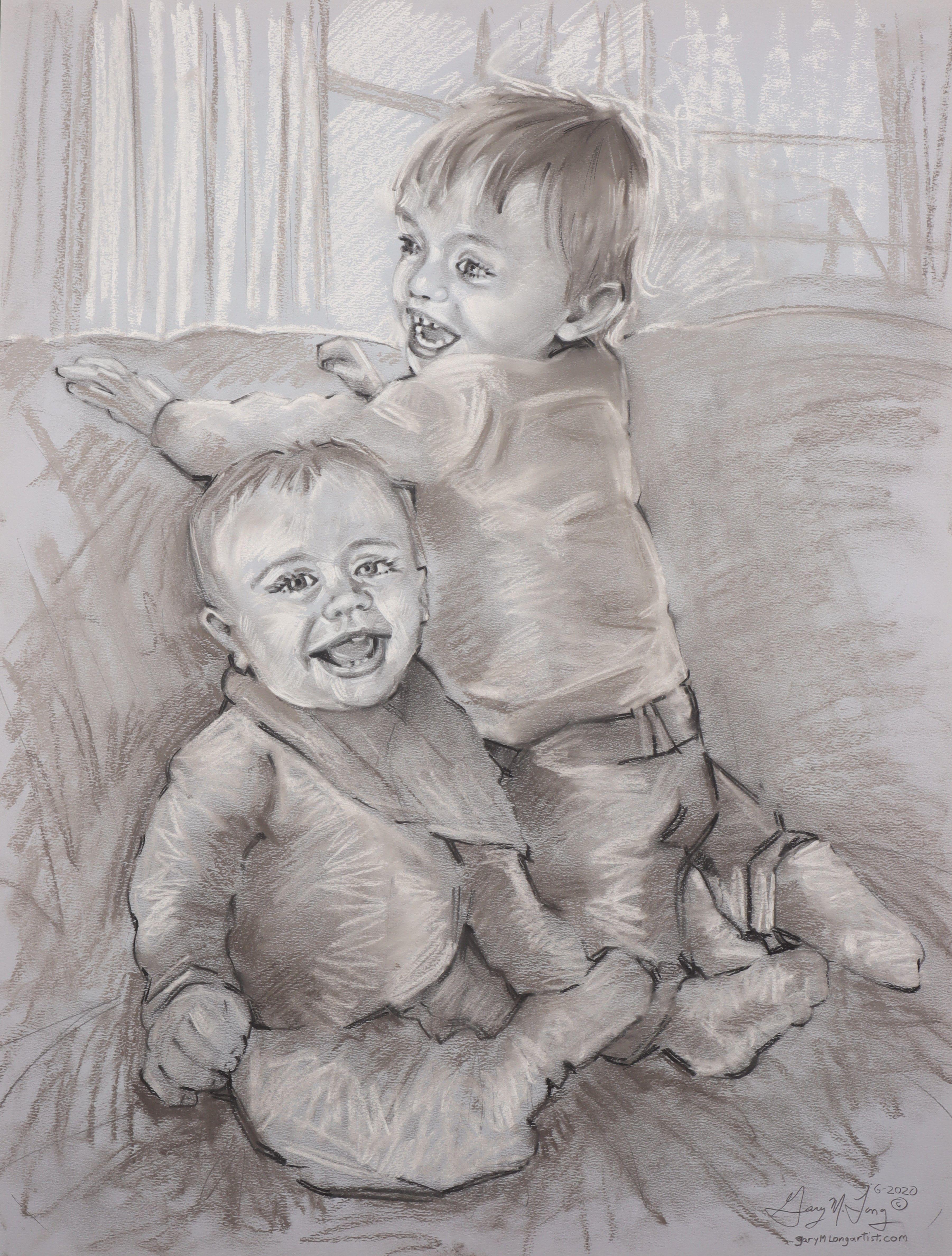 Artist: Gary Long, Pastel on Paper