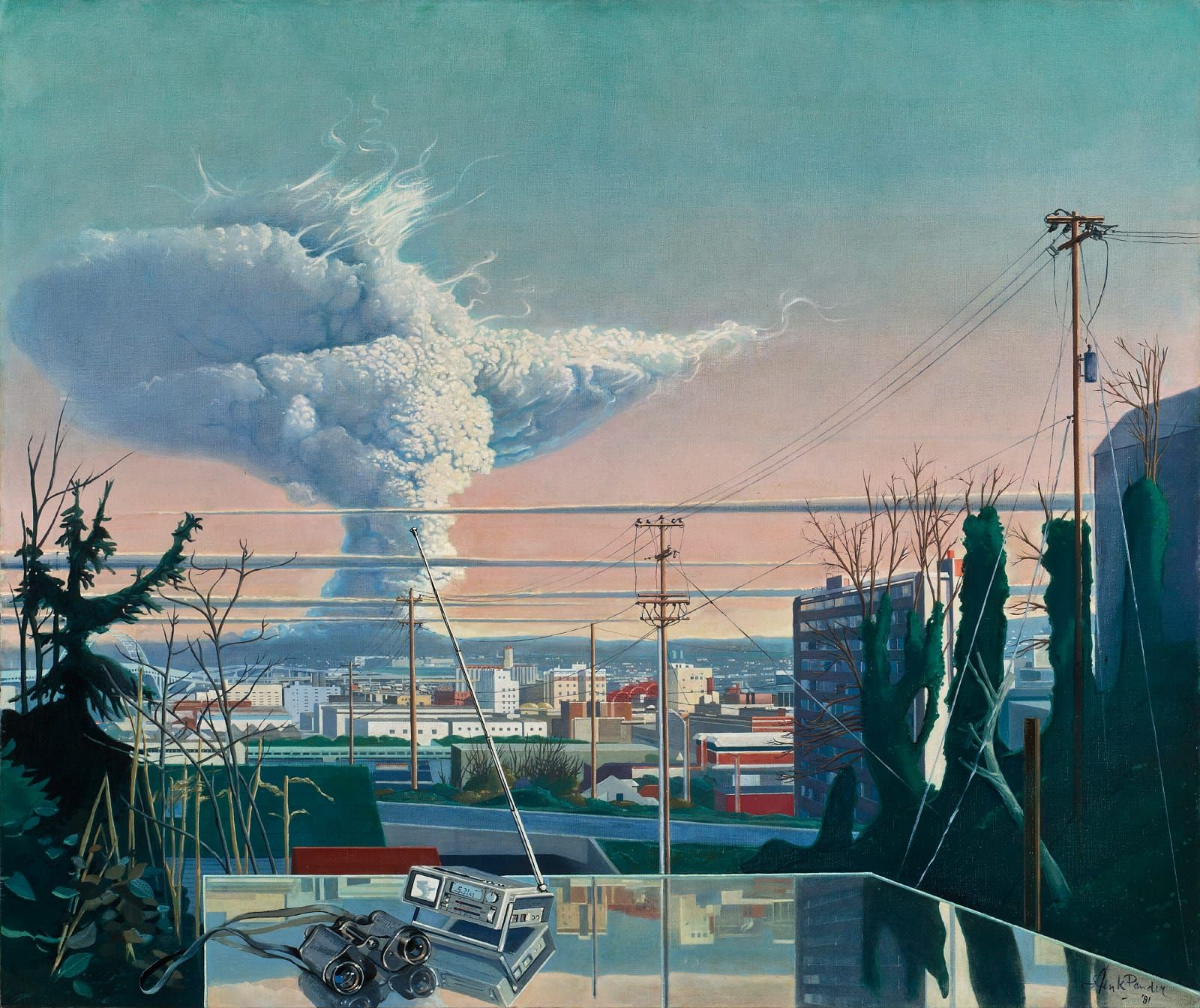 Volcano! Mount St. Helens in Art - Online Exhibition