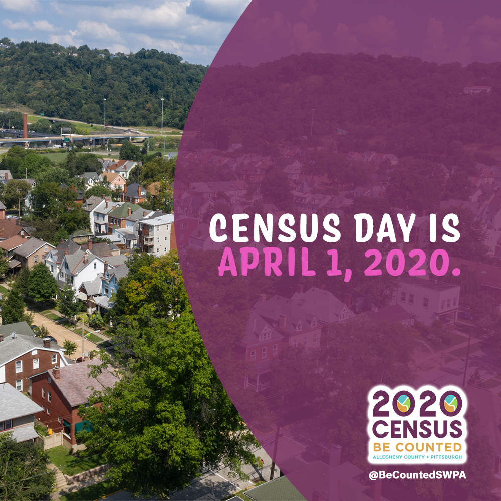 No April Fool's...it's Census Day!
