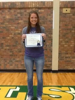 Brittany Krumnow - Valley Mills High School Graduate
