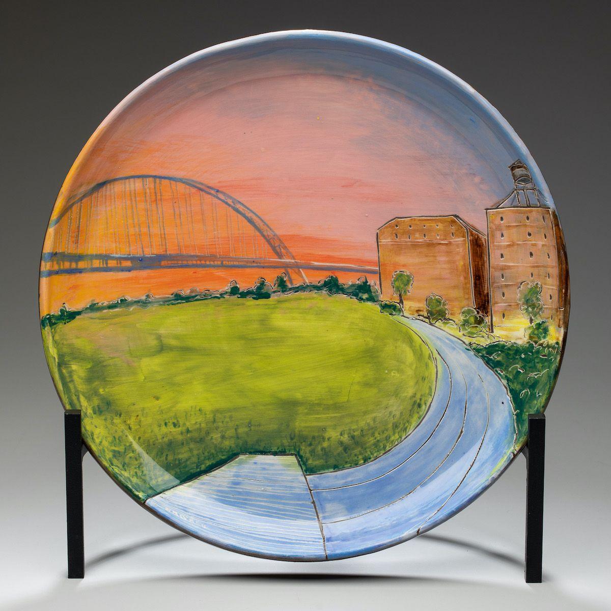 Fremont Bridge Platter