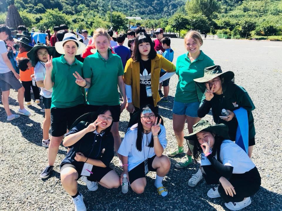 August 2018 - South Korea