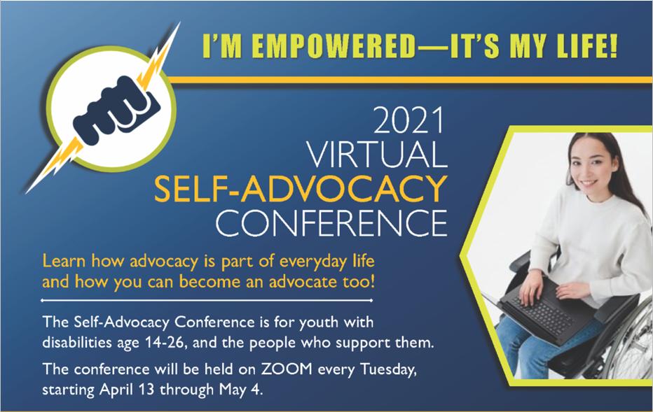 Virtual Self-Advocacy Conference