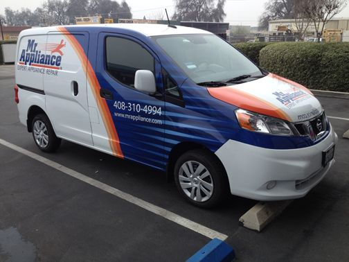 Van Wrap: Mr. Appliance Morgan Hill