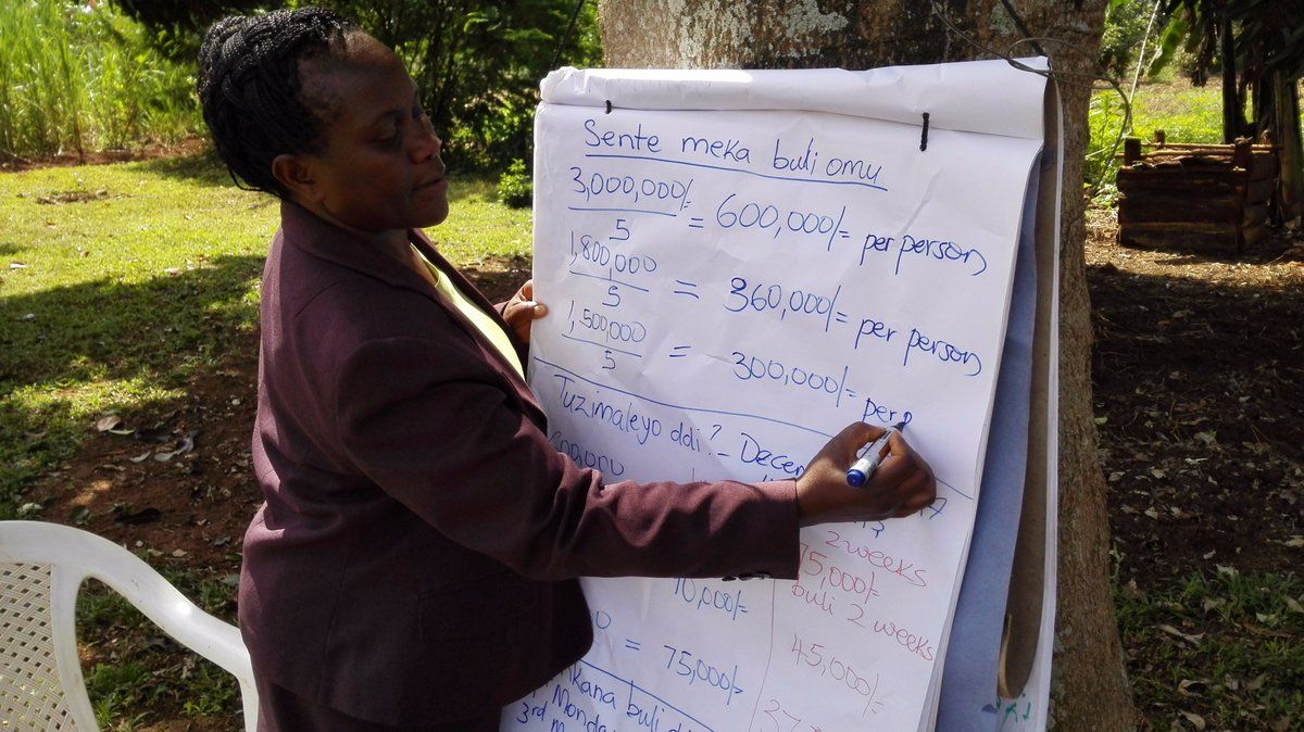 Formation of Training Syllabus by Harriet Nsubuga