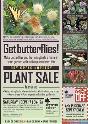 Fall plant sale Saturday at Dry Creek