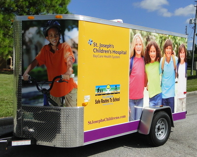 Trailer Wrap Side View