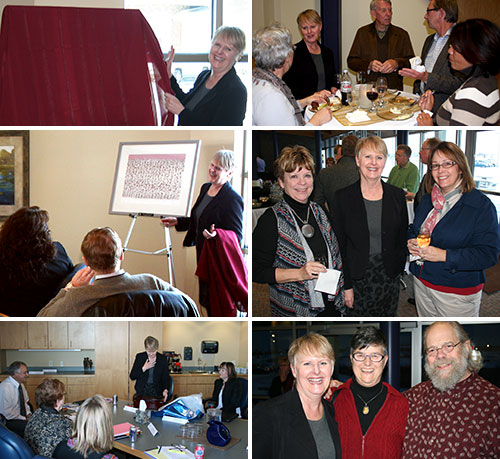 A fond farewell and fitting send-off for Nancy Straw