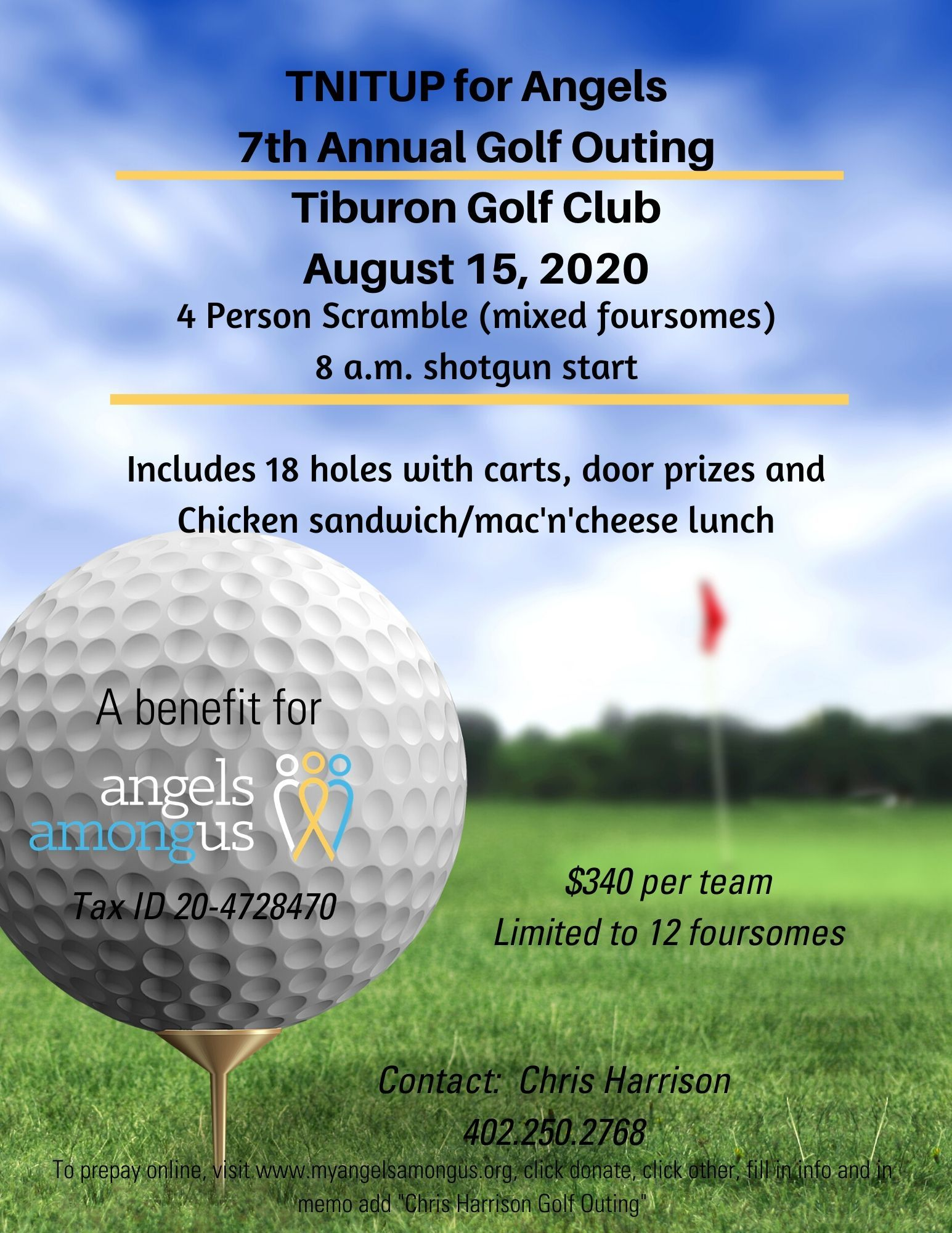 Chris Harrison's 7th Annual Golf Outing