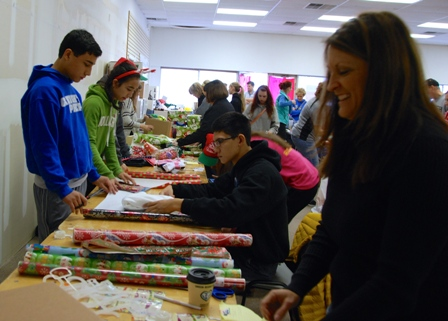 Project Wee Care Sorting and Wrapping Day