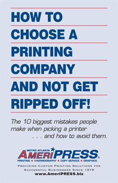 Print Tips