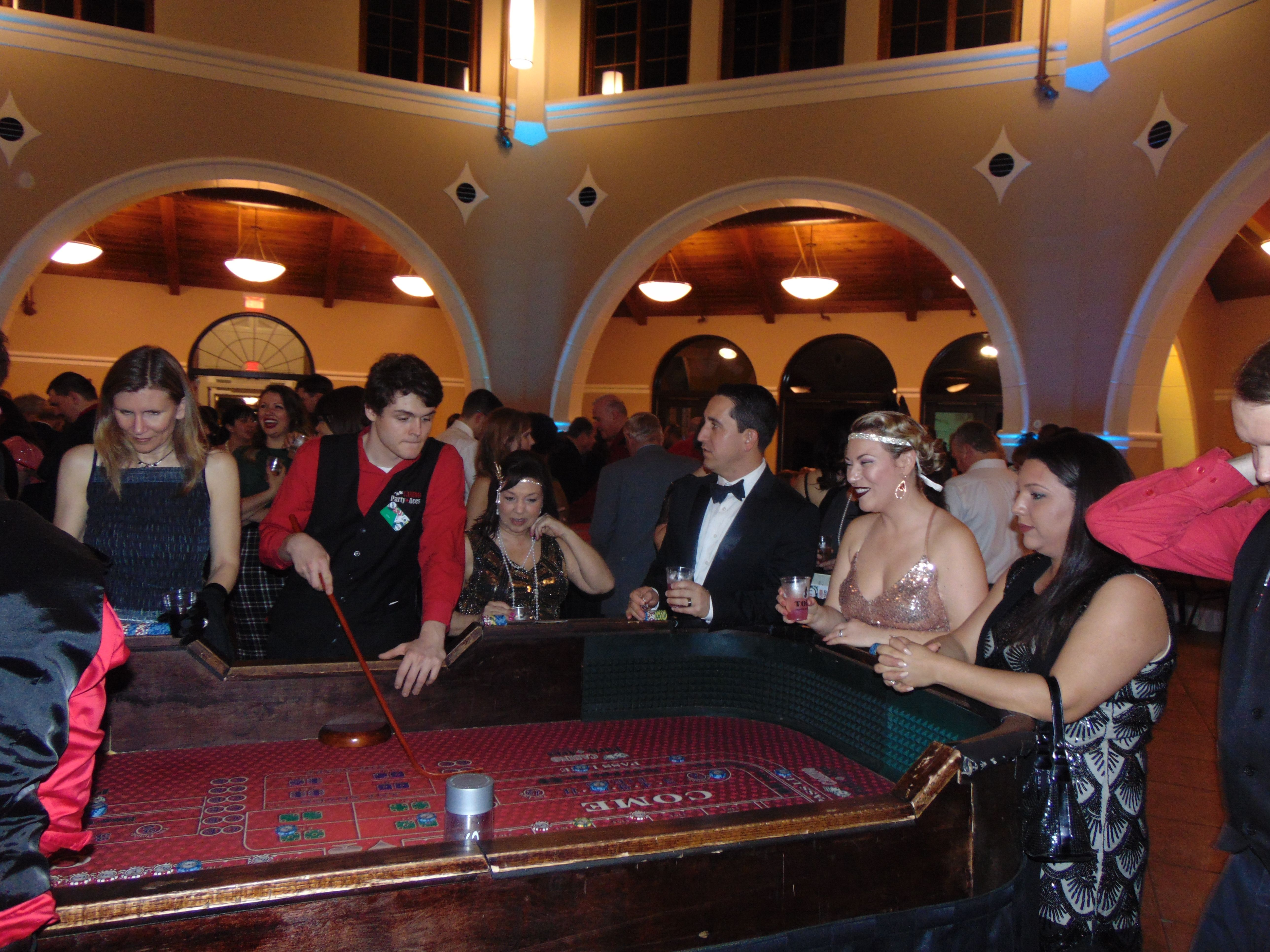 Evening at Casino Royale!