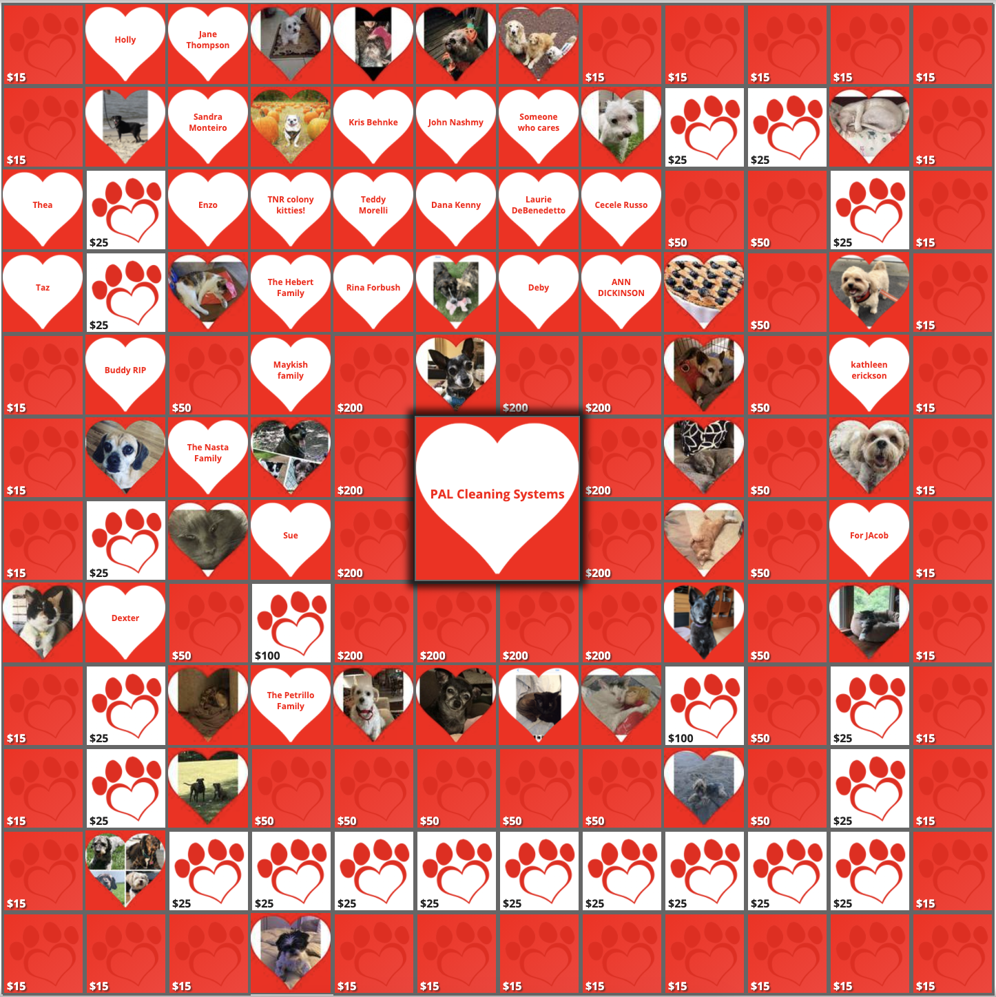 Community Pets Counting on You!