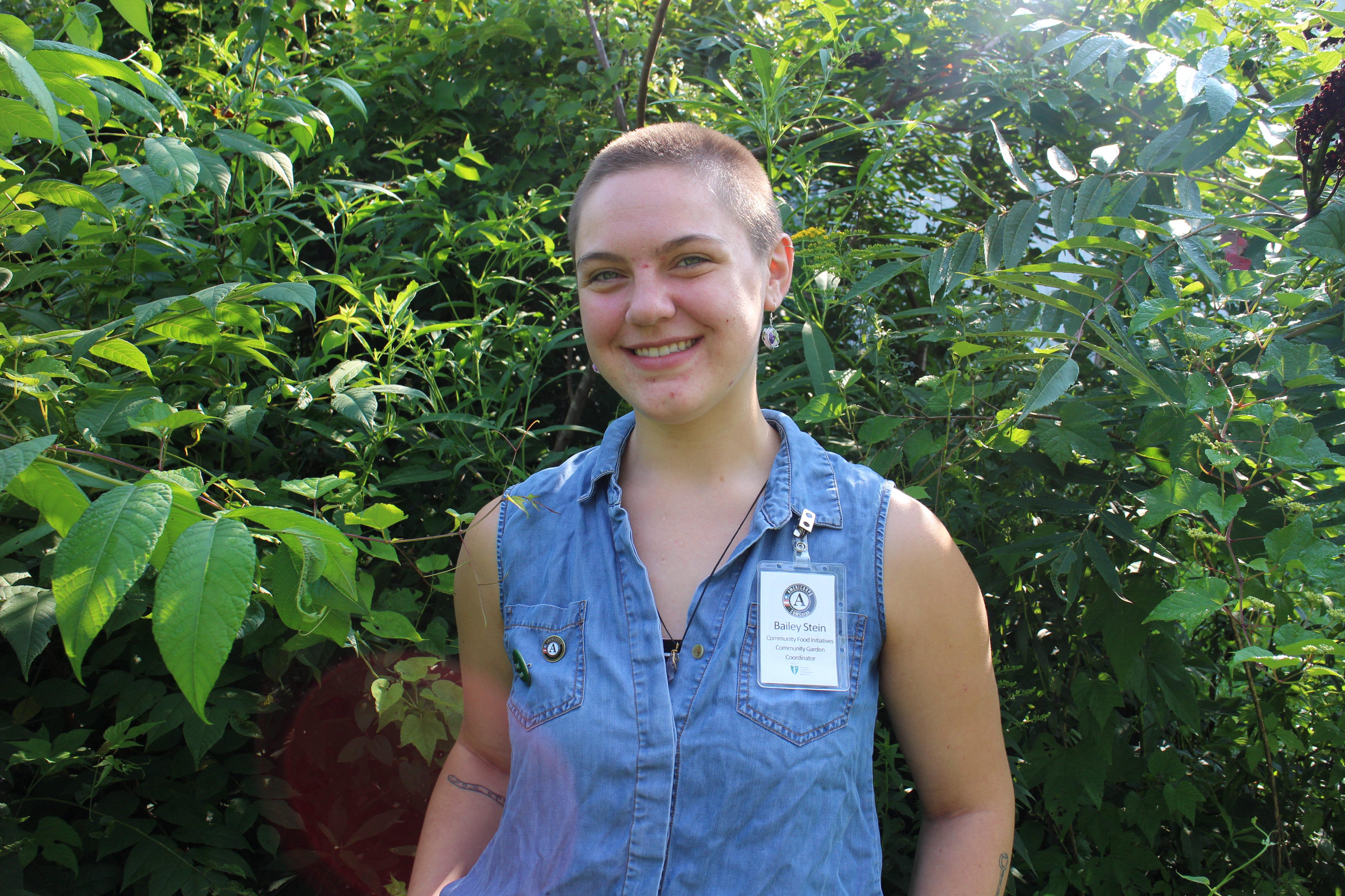 Basil Stein, Garden Programs Coordinator, COMCorps