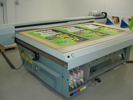 OCE 300 GT UV Flatbed Printer