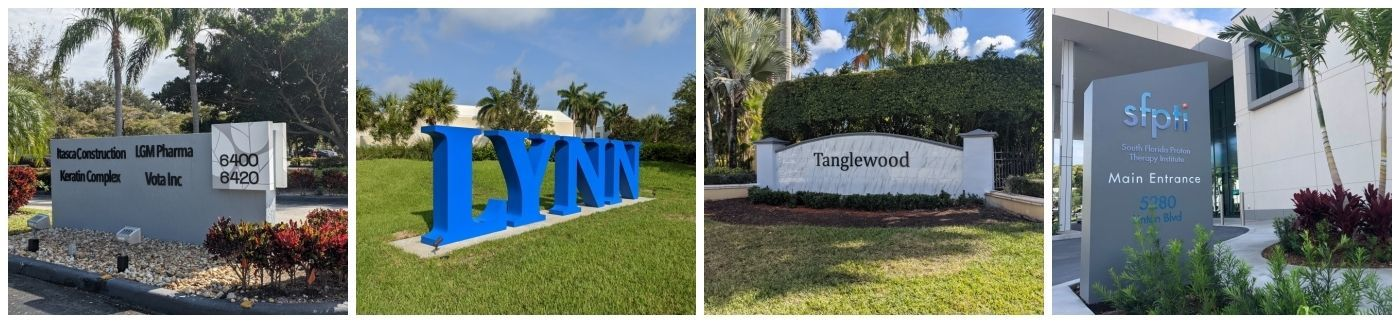 Monument Signs by Sign Partners - Florida Sign Company in Boca Raton