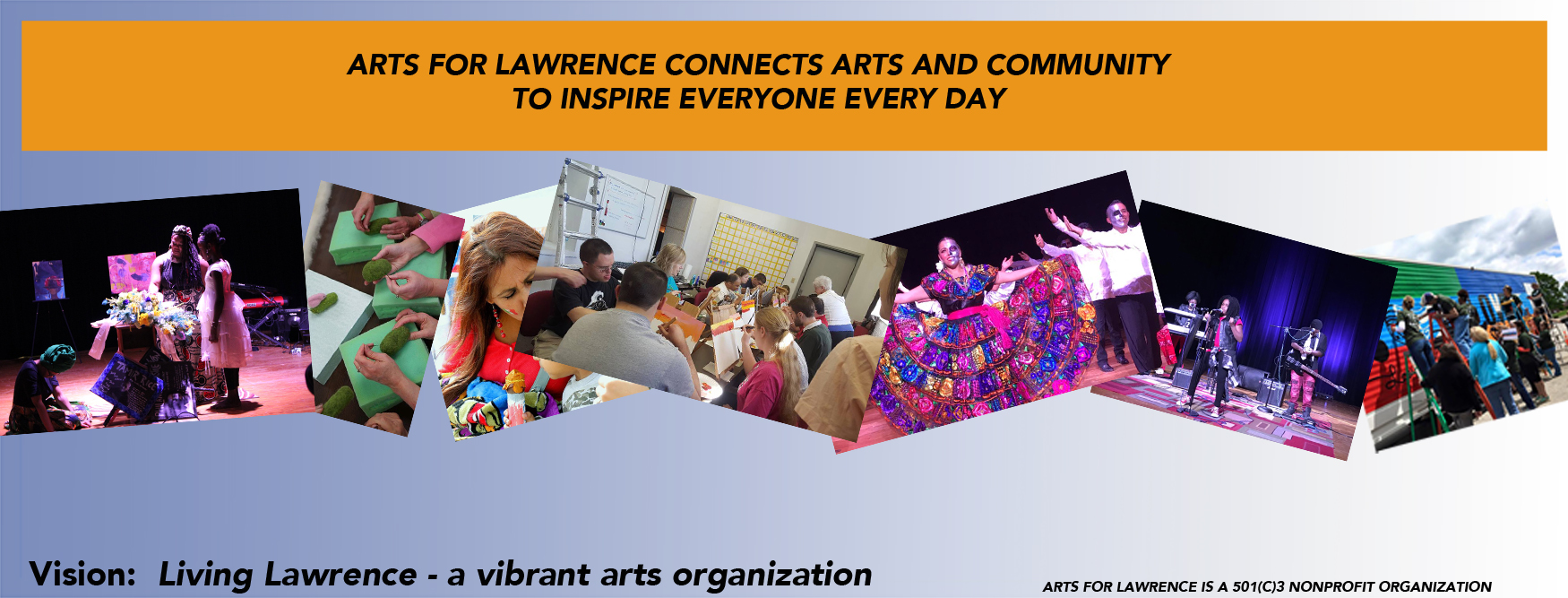 Who is Arts for Lawrence?