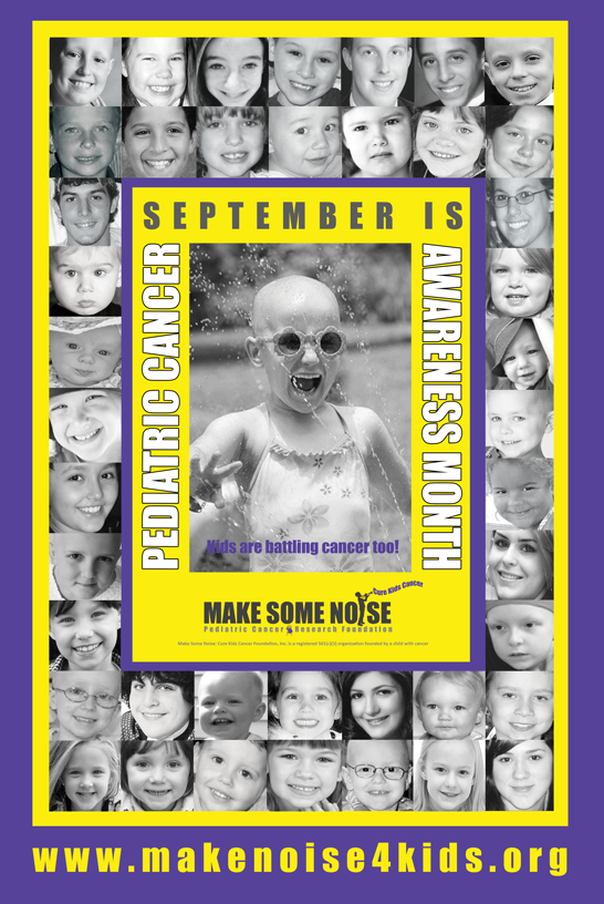 MakeNoise4Kids Awareness Poster #1