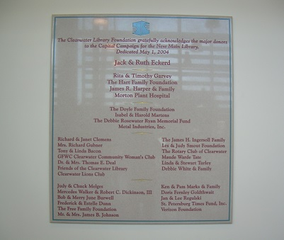 Library Plaque 1