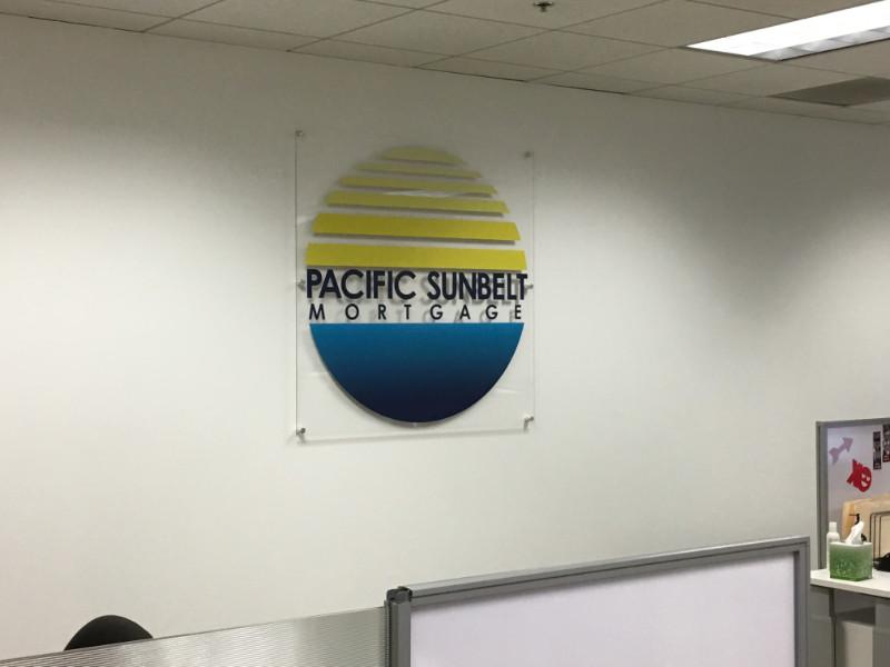 Acrylic Lobby Logo