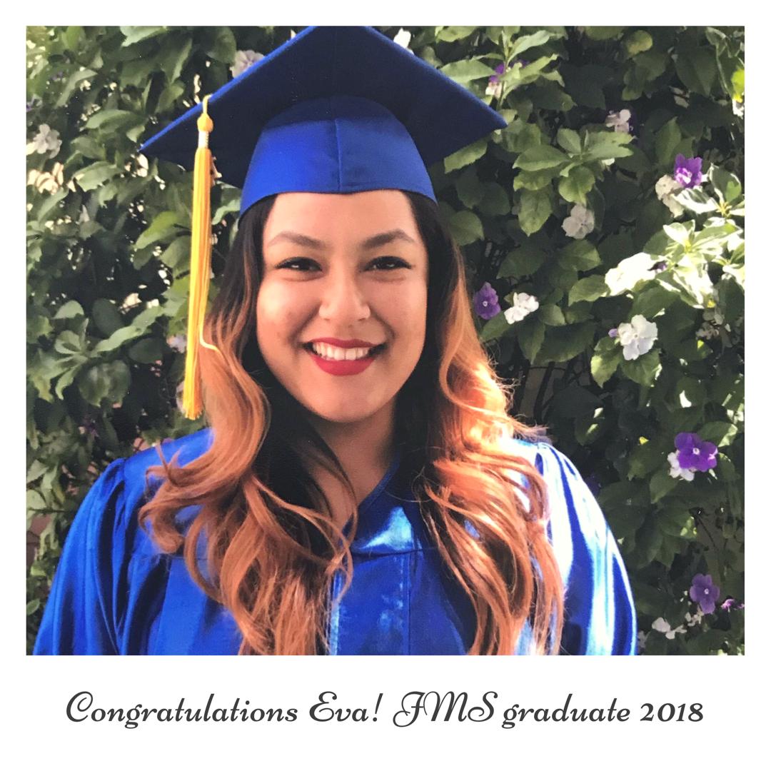 Eva - A JMS Graduate Success Story