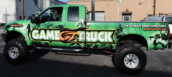 Game Truck - Pickup Truck