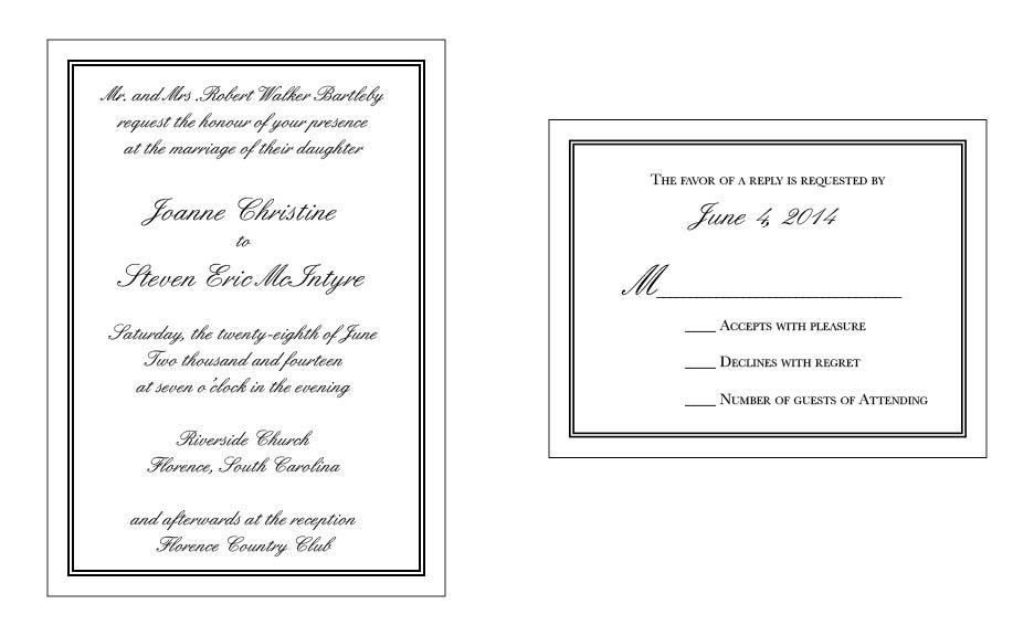 Wedding Set #11