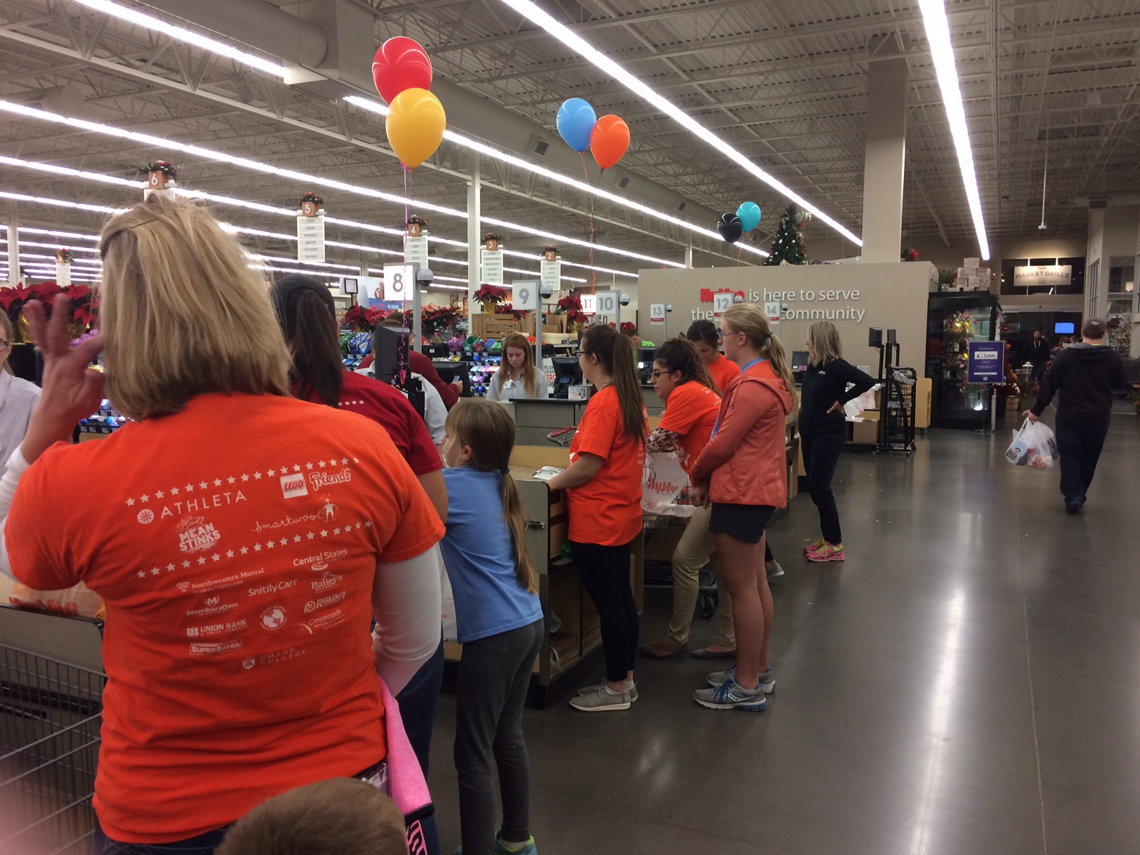 Special Event Bags Awareness and Donations for Kearney GOTR