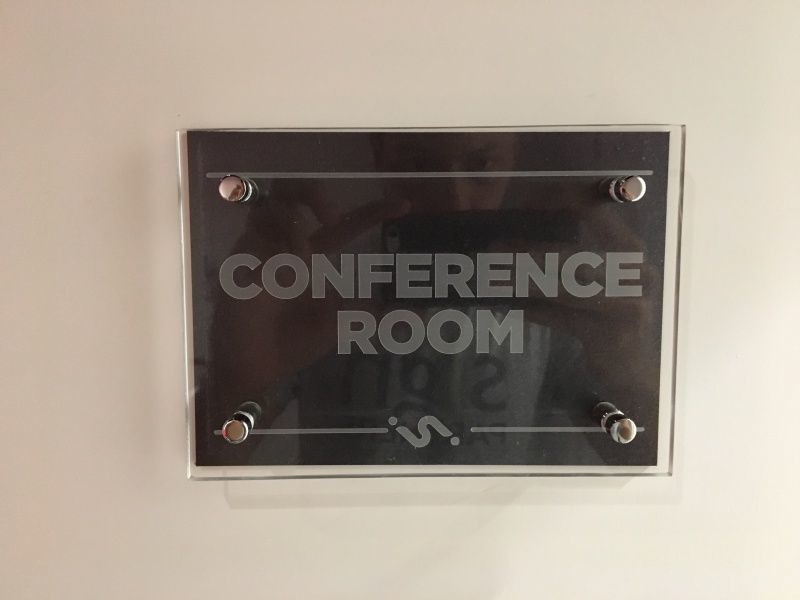 Best Sign Company - Deerfield Beach - Conference Room Door Sign