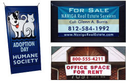 Color Vinyl Banners