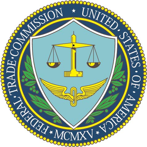 U30480 -Carved Wood Wall Plaque of the Seal of  US Federal Trade Commission (FTC)