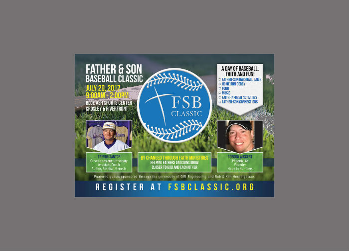 Father & Son Baseball Classic (FSBC)-Registration now open!