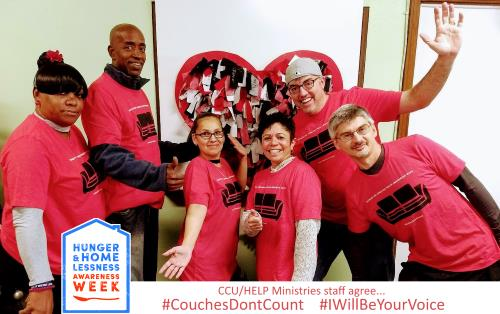CCU supports Valley Youth House's #CouchesDontCount Campaign