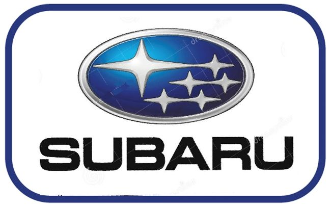 VP-1080 - Carved Wall Plaque of the Logo of Subaru, Aluminum Plated