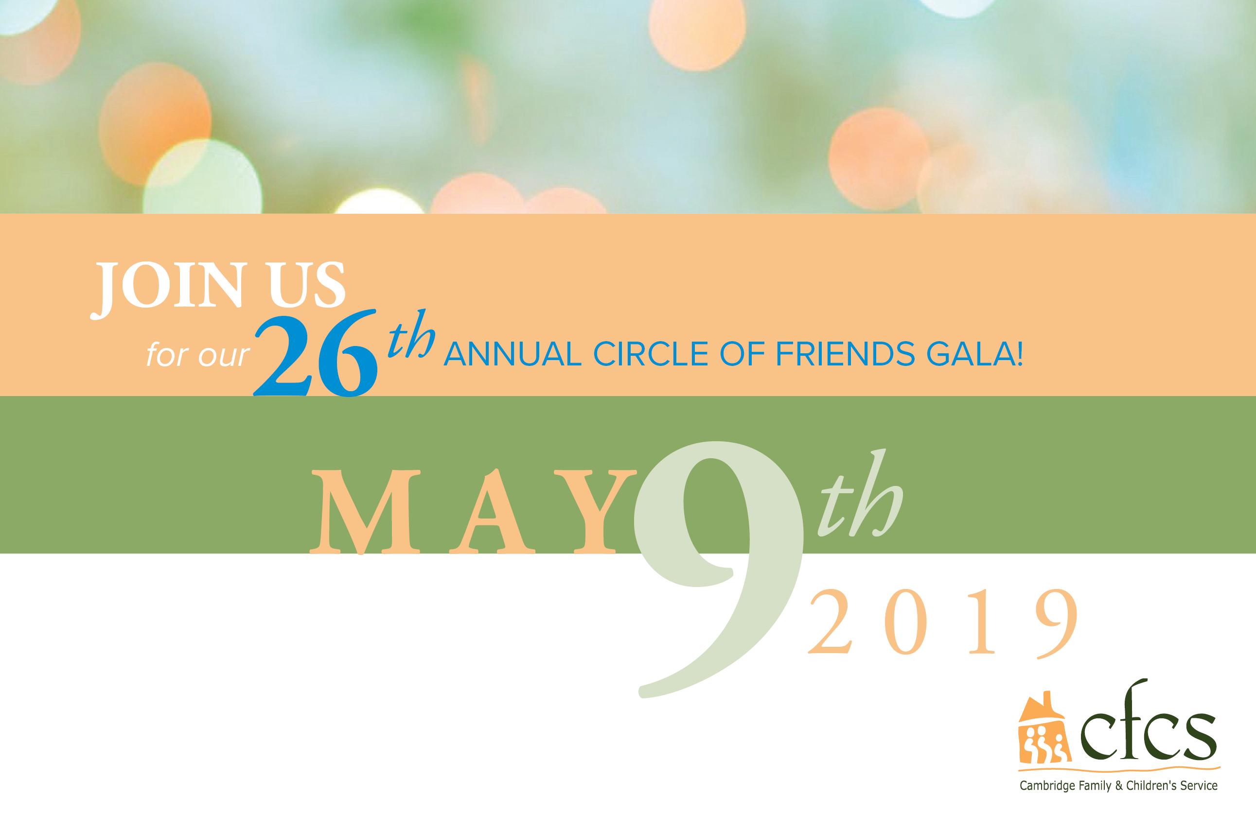 26th Annual Circle of Friends Gala