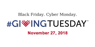 It's #GivingTuesday.