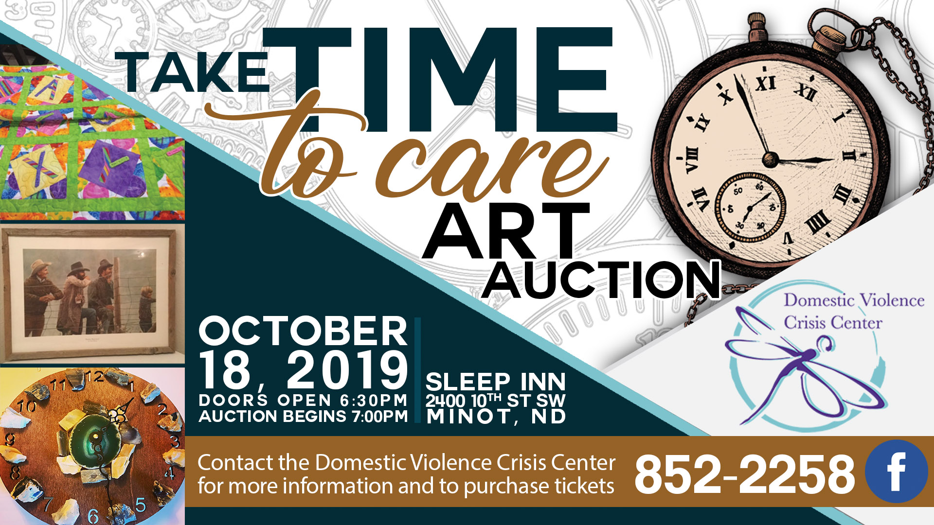 Take Time To Care Art Auction