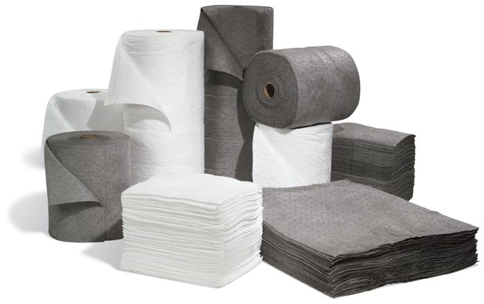 Absorbent Pads, Rolls and Mats