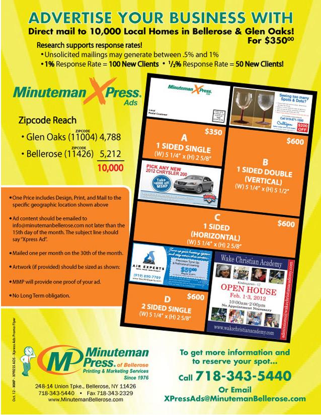 MinuteMan X-Press ADS