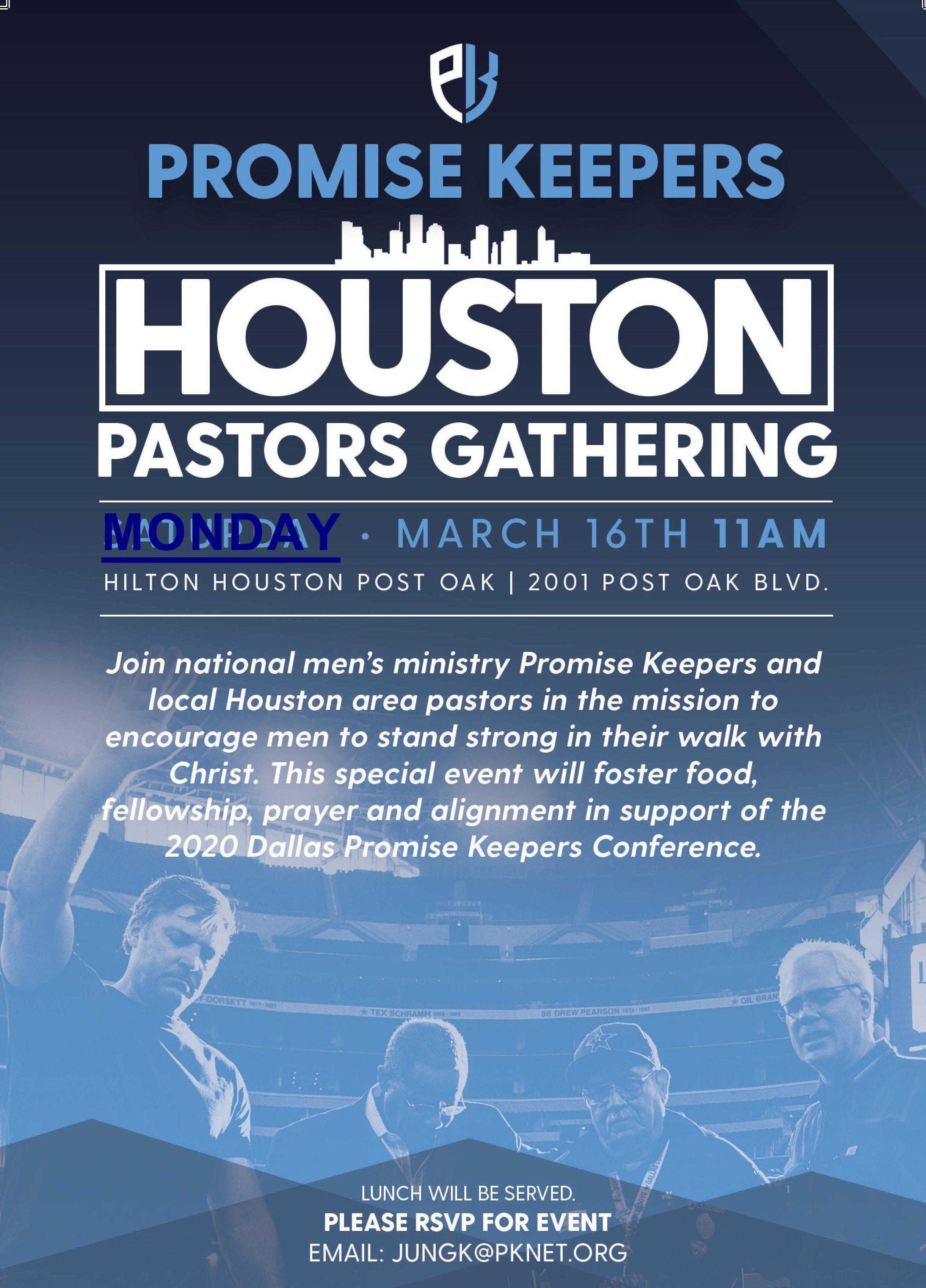 Promise Keepers USPC Houston Luncheon