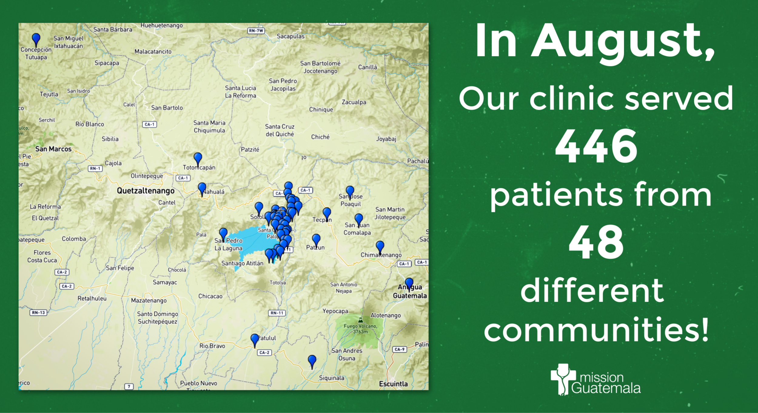 Clinic Has Far-Reaching Impact in August!