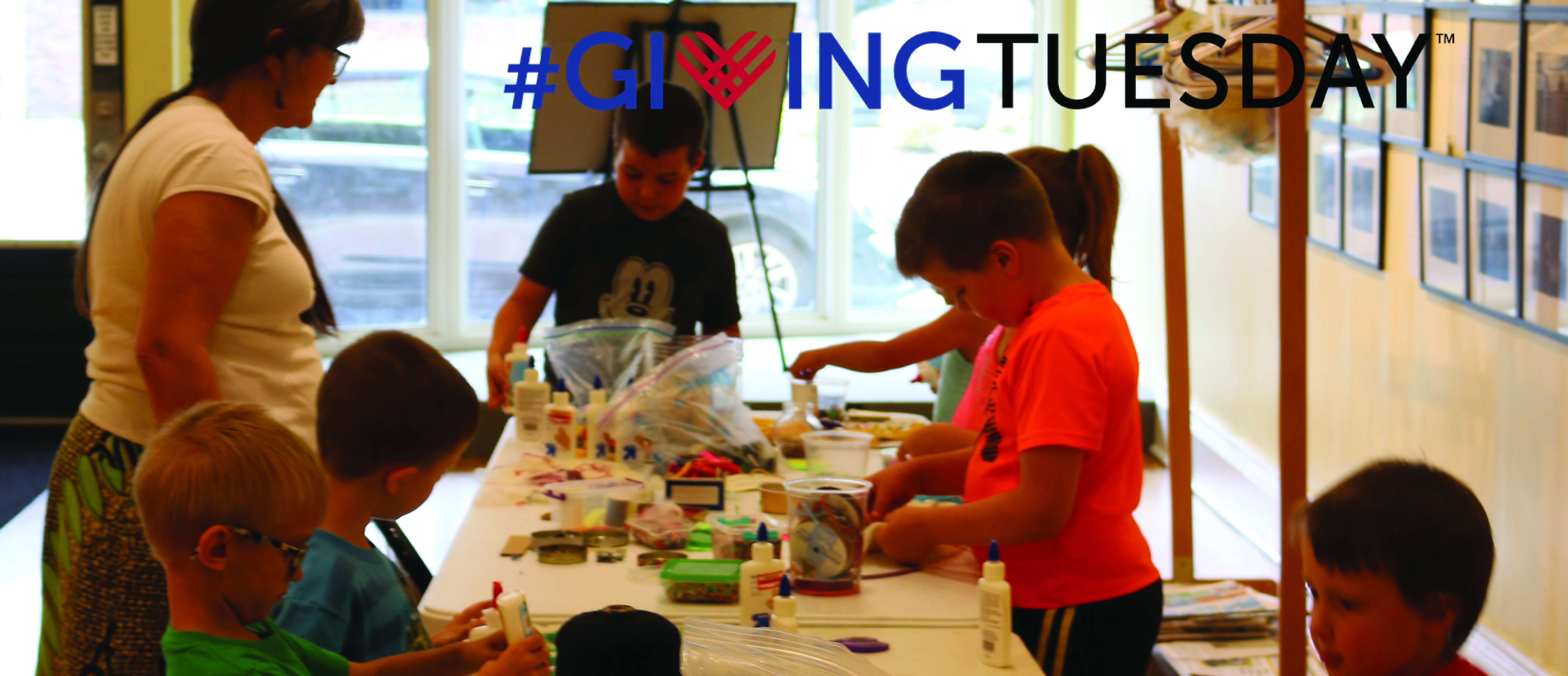 #GivingTuesday for Summer Art Camp!