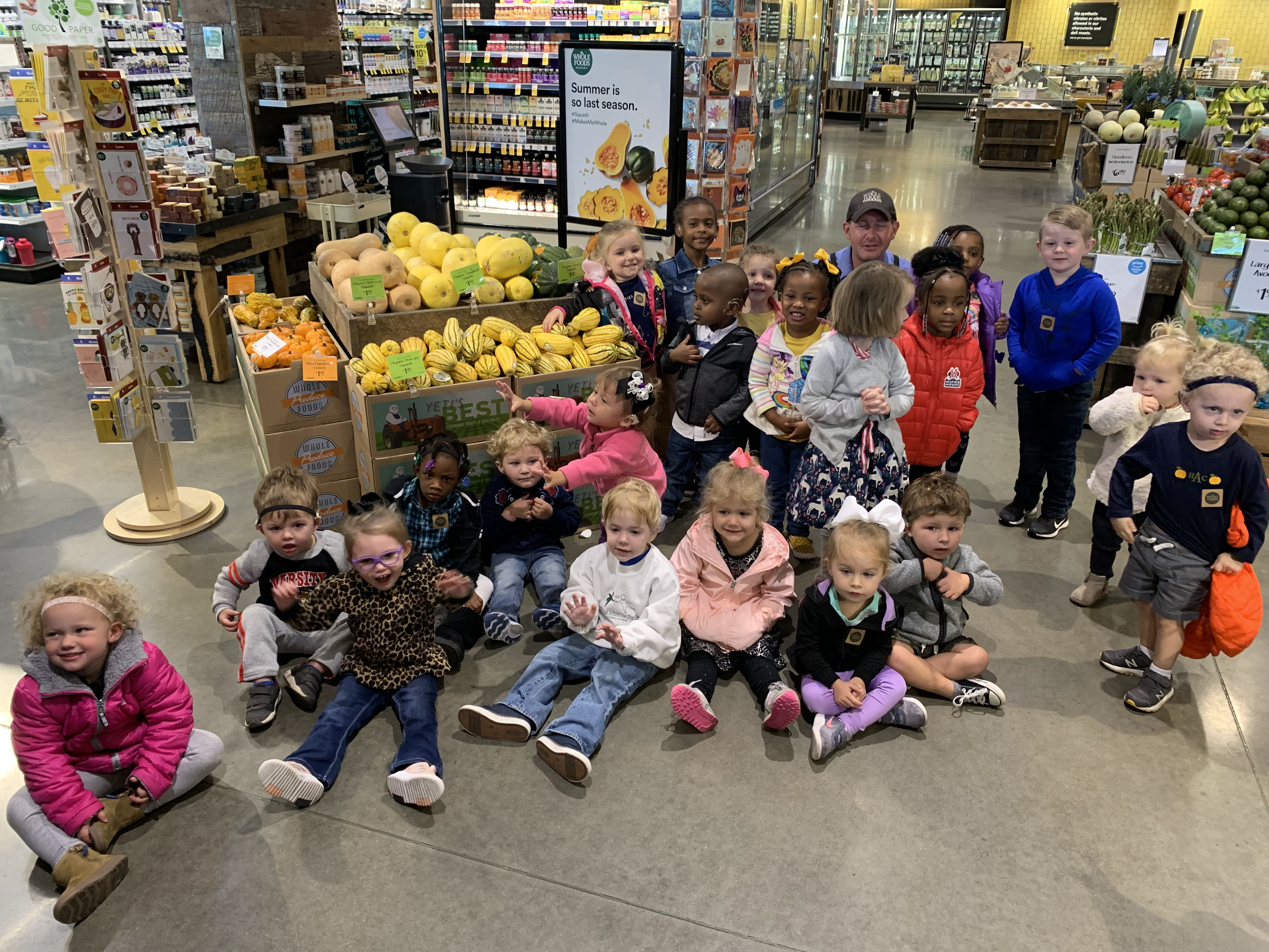 Whole Foods Field Trip!