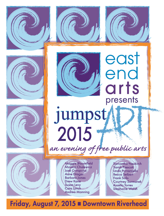 CLICK HERE for more info on the JumpstART 2015 Program and public arts unveiling party on Friday, August 7, 2015! >>