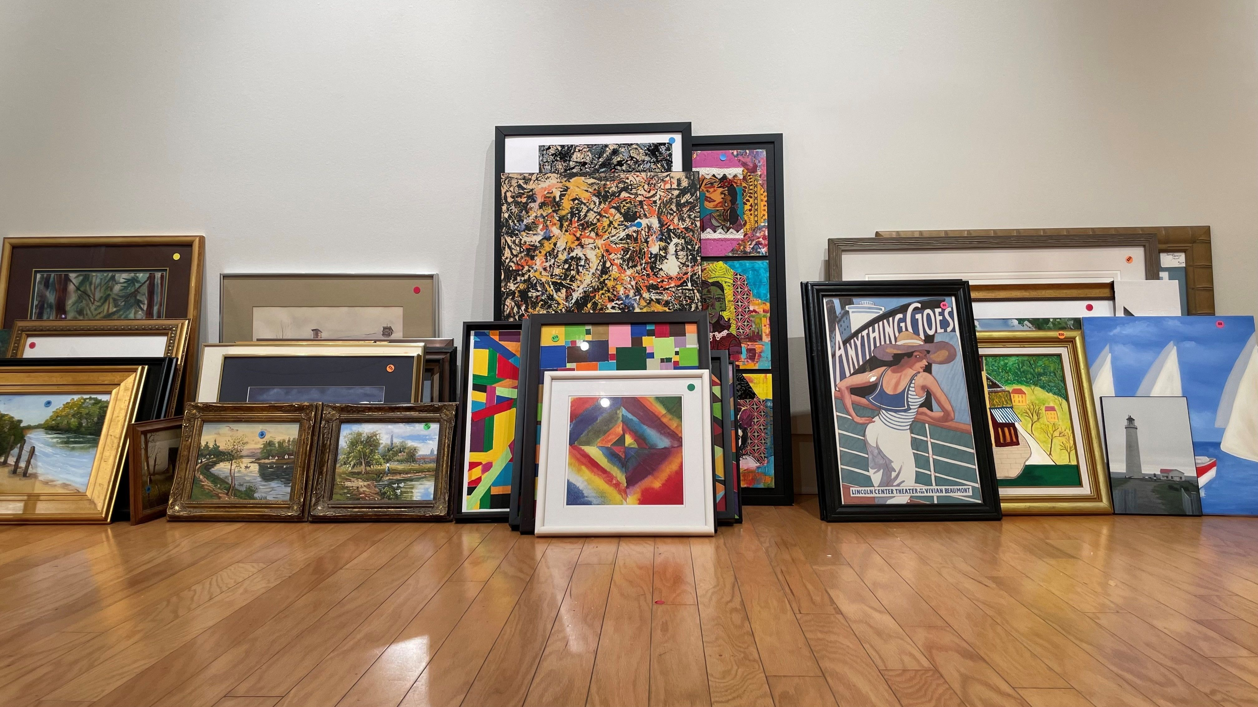 Art out of the Closet Sale!