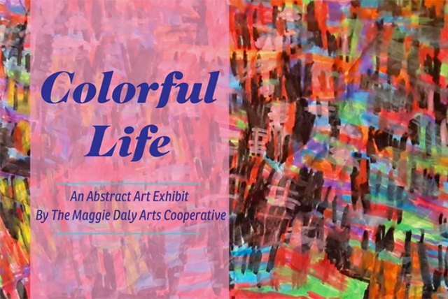 Colorful Life: An Abstract Exhibit Opening Reception