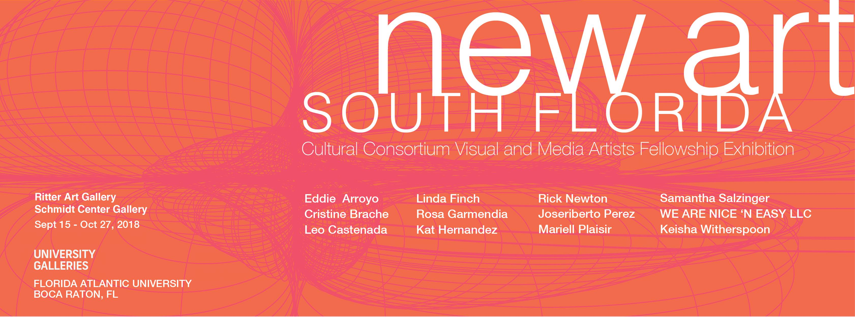 New Art: South Florida Cultural Consortium Fellowship Exhibition