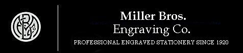 Miller Bros. Engraving Co.