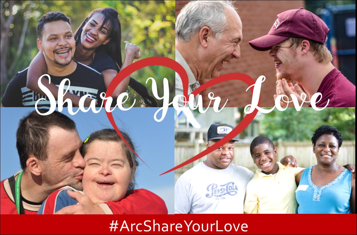#ArcShareYourLove